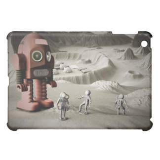 Thunder Robot and Toy Spacemen Retro Styled Speck  iPad Mini Covers
