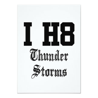 thunder storms card