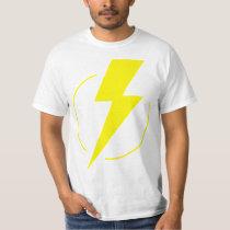 Thunder Strike Yellow T Shirt