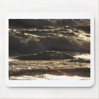 Thunder Waves Mouse Pad