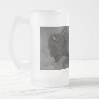Thunderbeast Frosted Glass Beer Mug