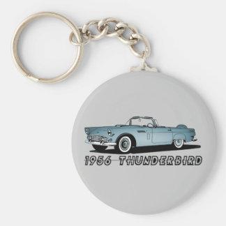 Thunderbird 1956 llaveros personalizados