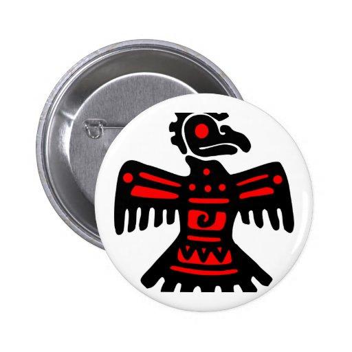 Thunderbird azteca pins
