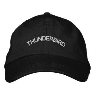 THUNDERBIRD EMBROIDERED BASEBALL CAP