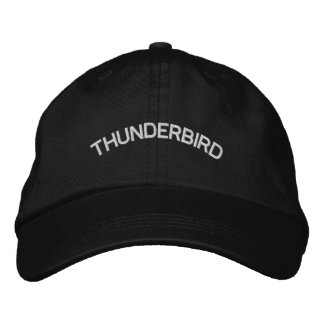 THUNDERBIRD EMBROIDERED BASEBALL HAT
