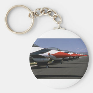 Thunderbird F-16s, Noses, On Ground Keychains