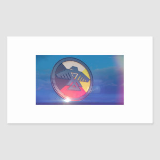 Thunderbird Four Directions 2014 Rectangular Sticker