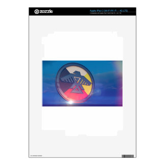 Thunderbird Four Directions 2014 iPad 3 Decals