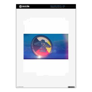 Thunderbird Four Directions 2014 Decal For iPad 2