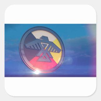Thunderbird Four Directions 2014 Square Sticker