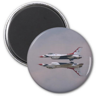 Thunderbird Mirror Fly By 2 Inch Round Magnet