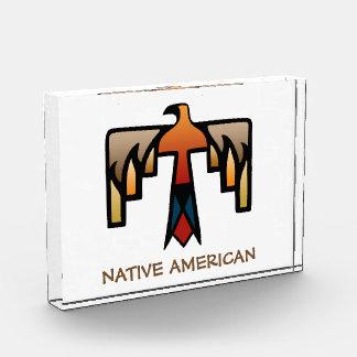 Thunderbird - Native American Indian Symbol Acrylic Award