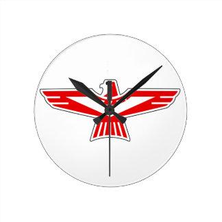 Thunderbird Round Clock