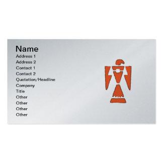 ThunderBird - Southwest Indian Design Business Card