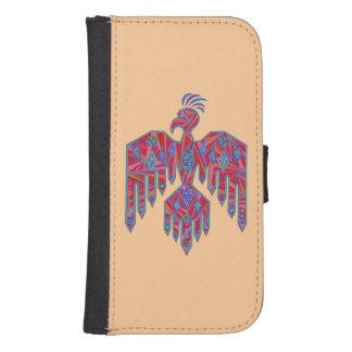 Thunderbird Southwest Native American Symbol Galaxy S4 Wallet Case