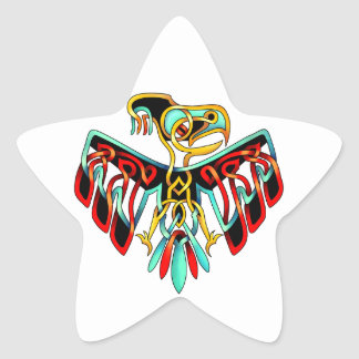 Thunderbird Star Sticker