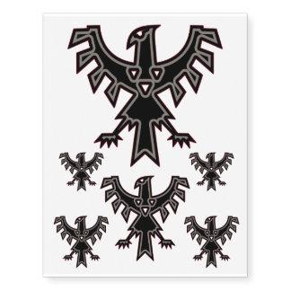 Thunderbird Temporary Tattoos