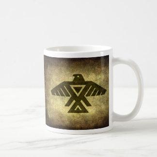 Thunderbird - Vintage parchment texture Coffee Mug