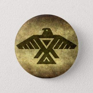 Thunderbird - Vintage parchment texture Pinback Button