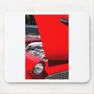 Thunderbird with Open Hood Mouse Pad