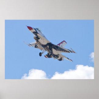 Thunderbirds #3 del U.S.A.F. Póster
