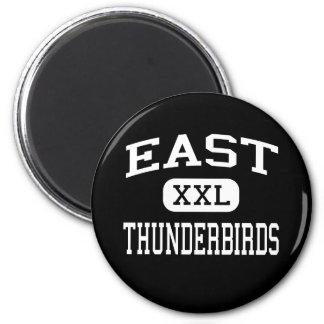 - Thunderbirds - alto del este - Cheyenne Wyoming Imán Para Frigorífico