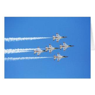 Thunderbirds ... card