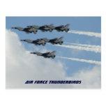 Thunderbirds de la fuerza aérea postal