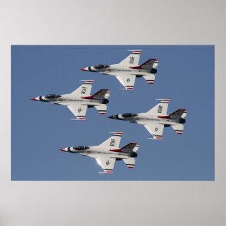 Thunderbirds del U.S.A.F. Póster