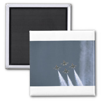 Thunderbirds Flying Diamond Formation 2 Inch Square Magnet