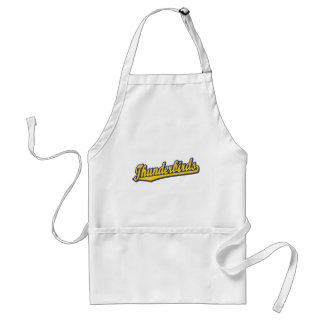 Thunderbirds in Blue and Gold Adult Apron