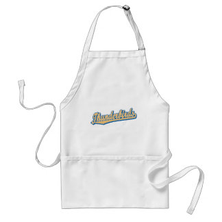 Thunderbirds in Gold and Blue Adult Apron