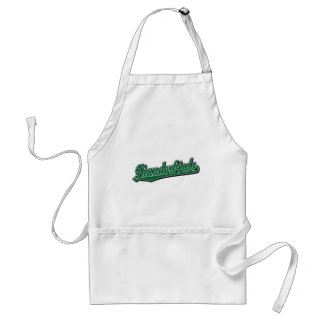 Thunderbirds in Green Adult Apron