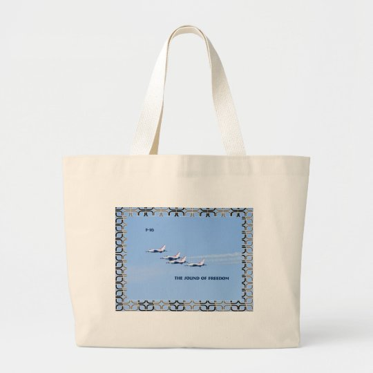 thunderbirds large tote bag