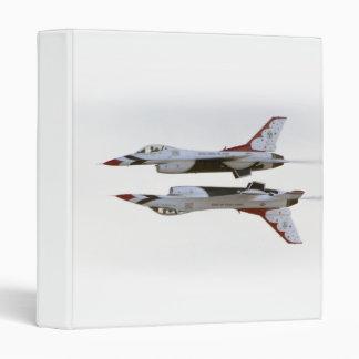 Thunderbirds Maneuver - Mirror 3 Ring Binder