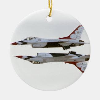 Thunderbirds Maneuver - Mirror Ceramic Ornament