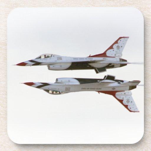 Thunderbirds Maneuver - Mirror Drink Coaster