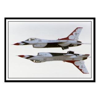 Thunderbirds Maneuver - Mirror Large Business Card