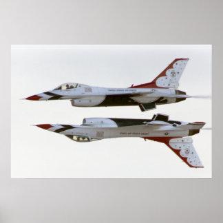 Thunderbirds Maneuver - Mirror Poster