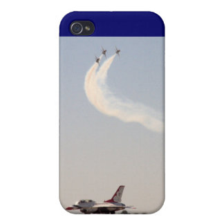 Thunderbirds Over and Under iPhone 4/4S Cases