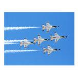 Thunderbirds ... post card