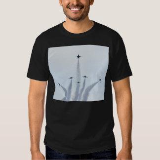 Thunderbirds Split Formation T-shirts
