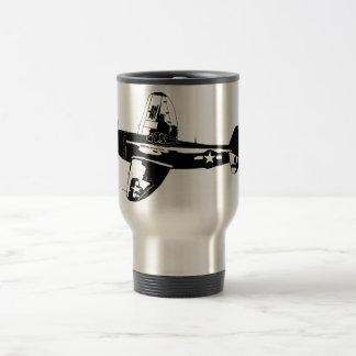 Thunderbolt Side Profile Travel Mug