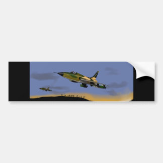 Thunderchief F105 Fighter Bomber Bumper Sticker