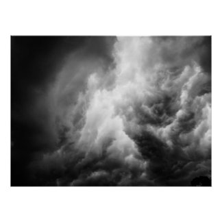 Thunderclouds Poster