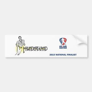Thundergland Bumper Sticker