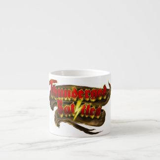 Thundergod lucha la taza de café taza espresso