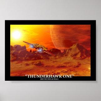 Thunderhawk One Poster