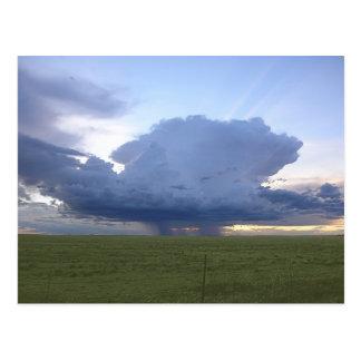 Thunderhead azul tarjetas postales
