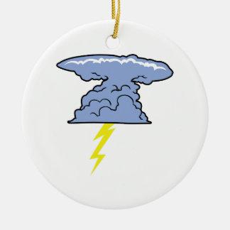 Thunderhead Ceramic Ornament